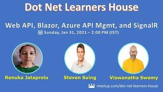 Web API, Blazor WASM, Azure API Management, and SignalR