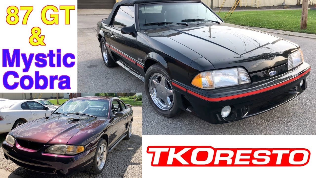 Another Mystic Cobra And Mint 87 Foxbody