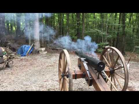 OH Crap...Civil War cannon vs Ram 1500 Truck