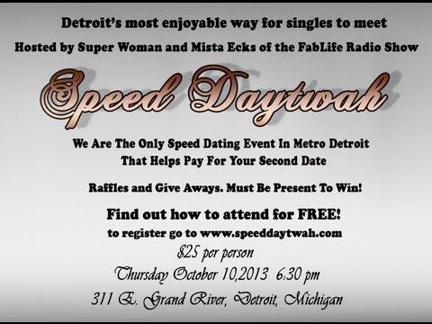 free speed dating detroit