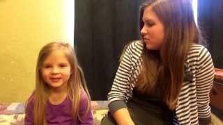 Lawson & Katie Bates quiz 5 year old Callie bates on random history. MUST WATCH!!