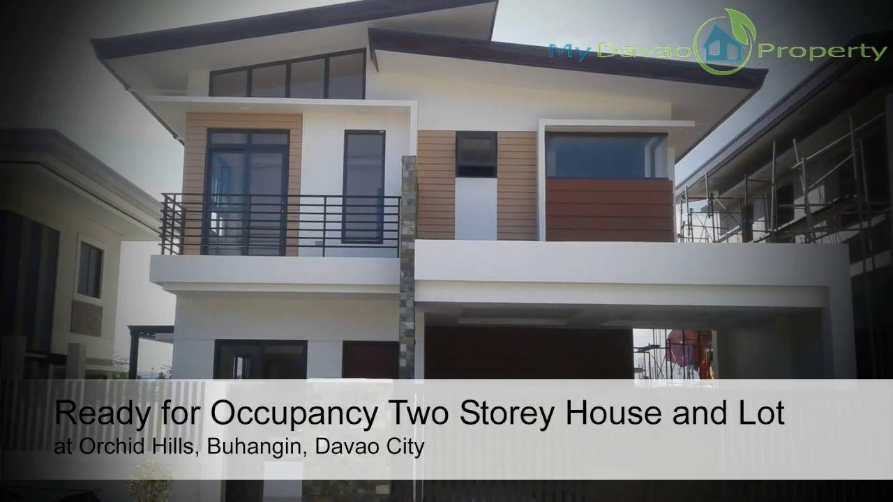 ready for occupancy two storey house and lot at orchid hills