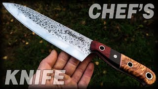 Knife Making: Chef's Knife For Chanelle DIY