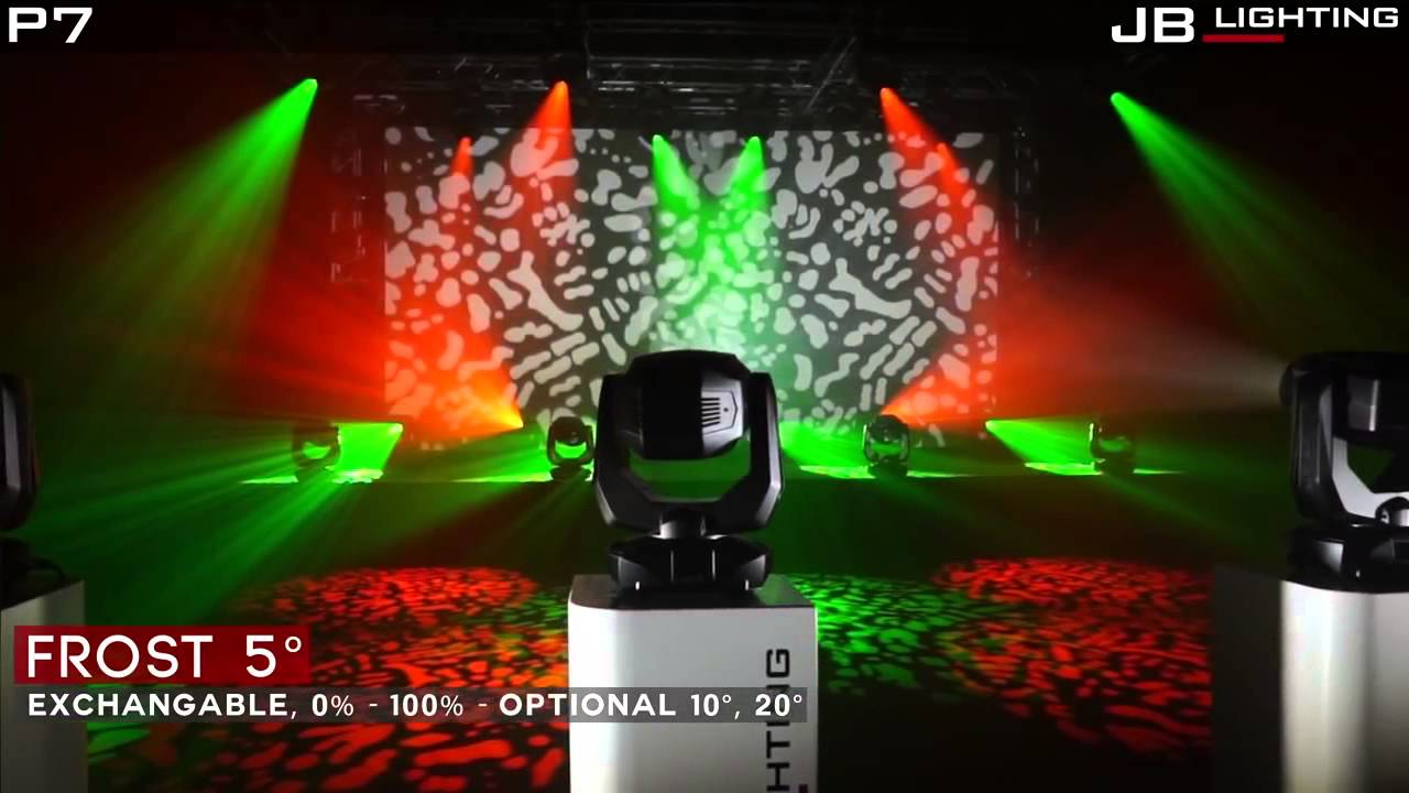 jb lighting varyscan p7 cmy moving head spot 270w led wei zoom youtube. Black Bedroom Furniture Sets. Home Design Ideas