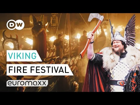Up Helly Aa Festival | Viking Fire Festival On The Shetland Islands | Euromaxx