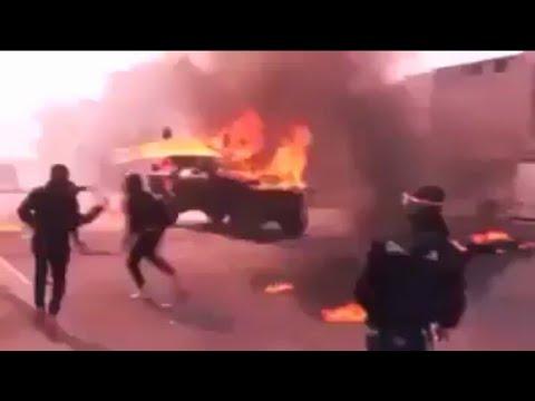 Palestina melawan tentara ISRAEL di lempar bom