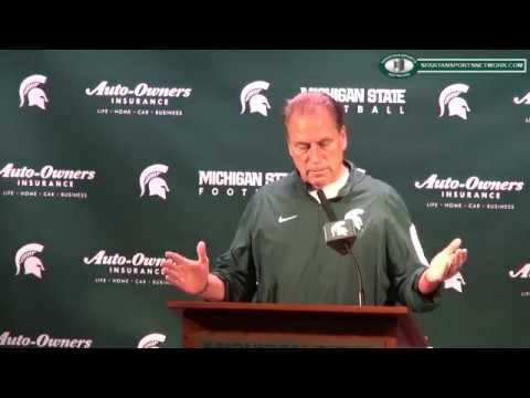 Tom Izzo Previews Exhibition Games 2017