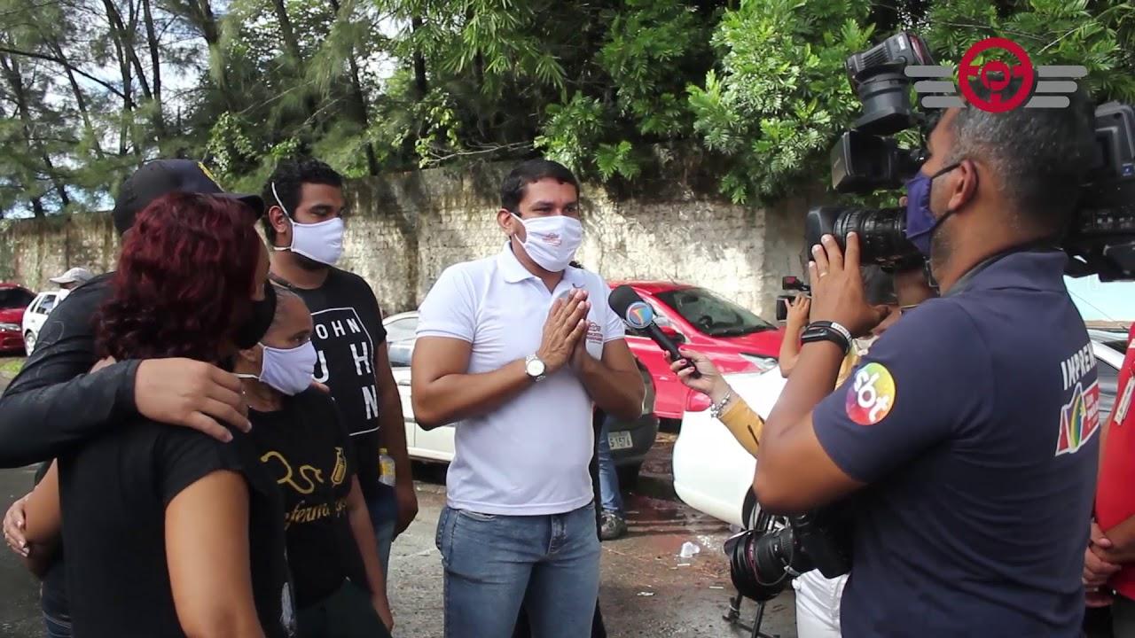 Sindicato participa de ato em apoio aos rodoviários demitidos da Metropolitana