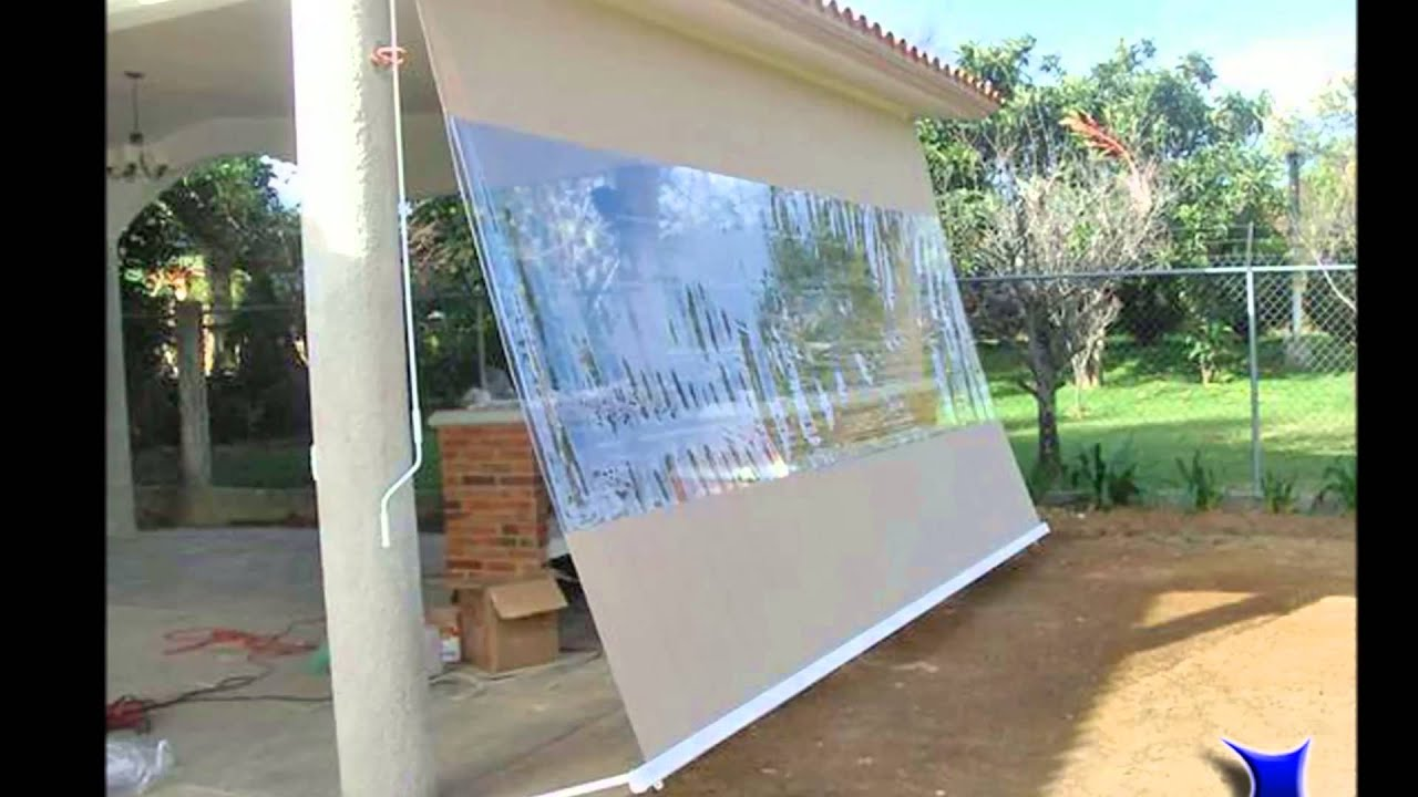 Toldo vertical youtube - Toldos leroy merlin ...