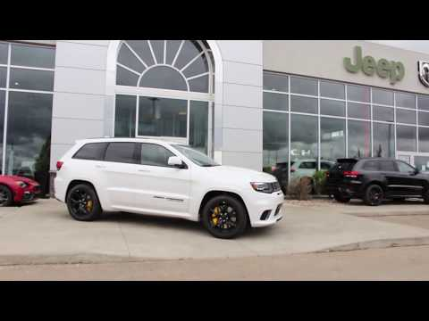 2018 Jeep Grand Cherokee Trackhawk | Performance Luxury SUV with All The Power!