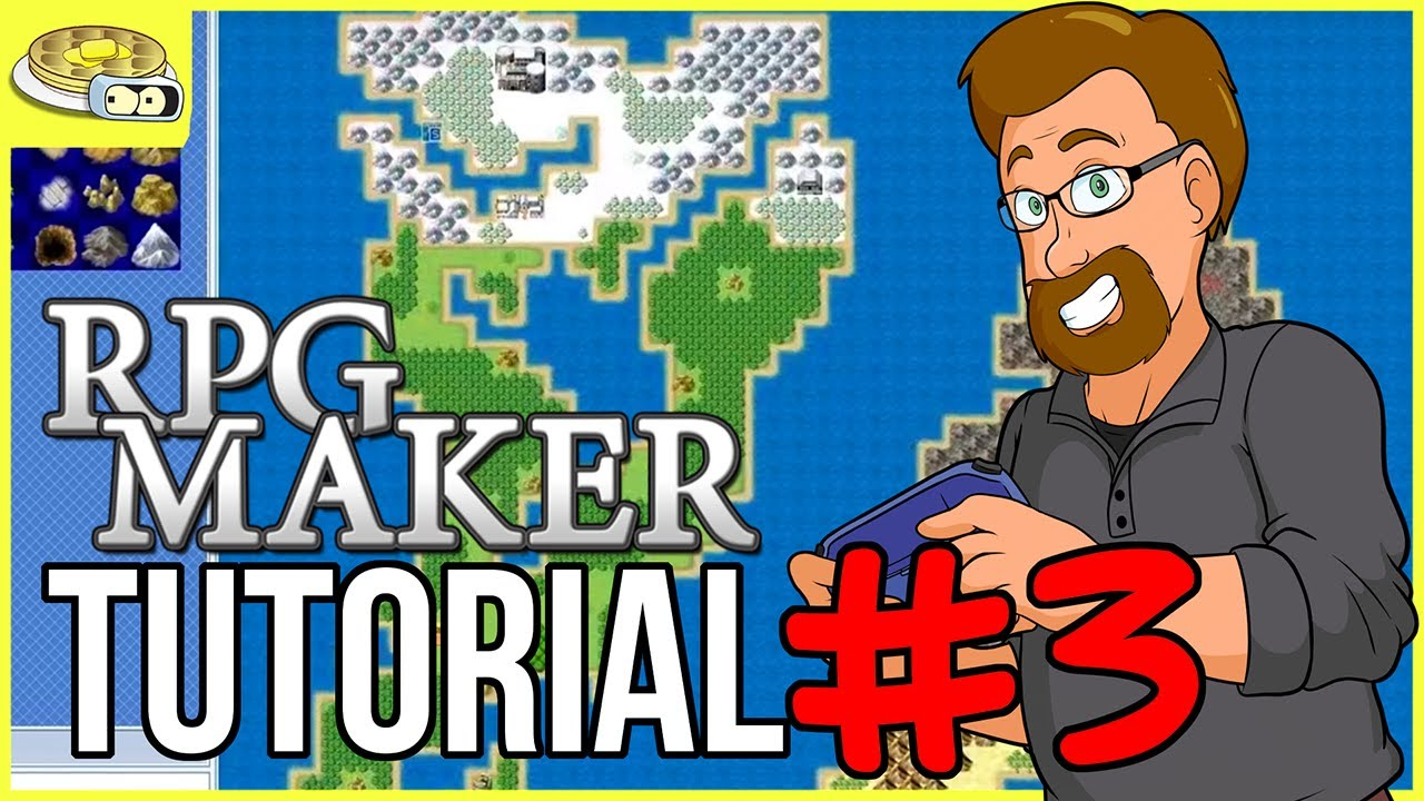 Creating The WORLD MAP | BenderWaffles Teaches - RPG Maker Tutorial ...