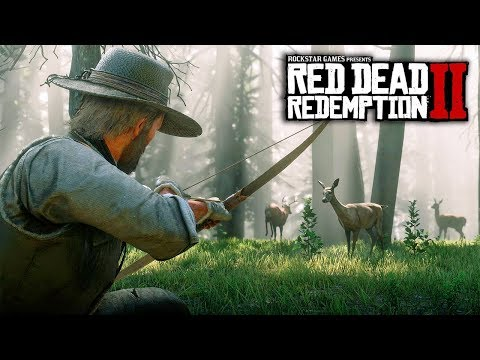 Red Dead Redemption 2 - 8 NEW IMAGES & GAMEPLAY INFO! Wildlife, Hunting, Fishing & Customization!
