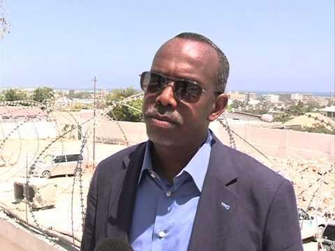 SOMALI AMBASSADOR SPEAKS IN SOMALIA.