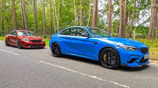 New BMW M2 CS vs M2 Competition - Is the CS worth £80k? On road and track!