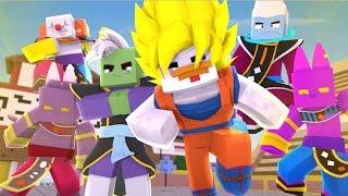 Minecraft: DRAGON BLOCK C SUPER ONLINE - TORNEIO DO PODER ‹ Frango ›