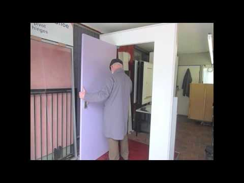 How To Install A Pivot Door In Under 5 Minutes   The TR35 Pivot Kit