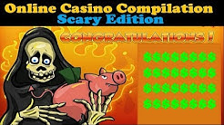 Online Casino Bonus Compilation (Scary Edition - Zombies, Witches, Vampires, Devils)