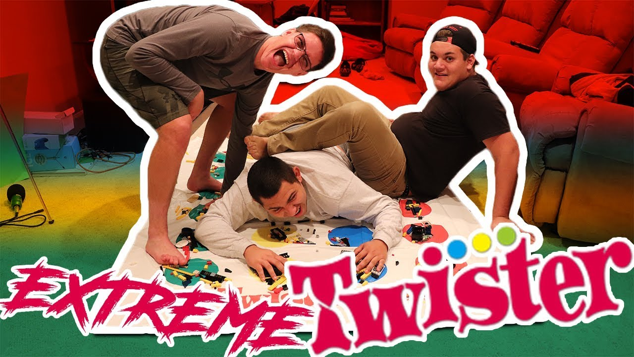 Crazy kids play twister ep3 - YouTube