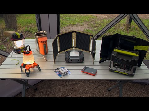 Stay Charged While Camping | Camp Cabela's