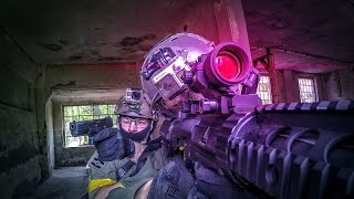 AIRSOFT: Gameplay Deutsch CQB - Scope Cam - Urban Area Asgard Polen 2