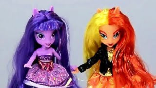 Twilight Sparkle & Sunset Shimmer Doll Set - Equestria Girls - My Little Pony - Hasbro - A3997
