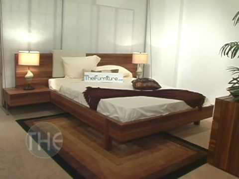 modern designer bedroom set with platform bed from gap 16439 | hqdefault