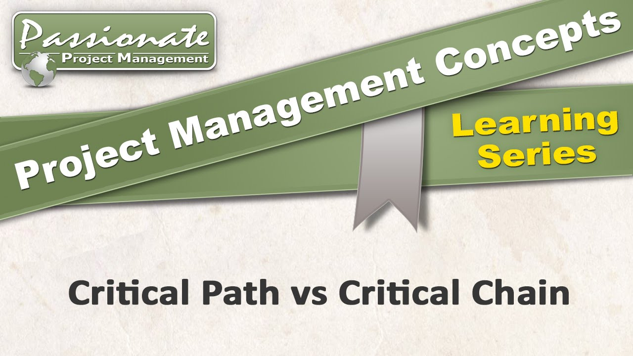 worksheet Critical Path Worksheet project management concept 18 critical path v chain youtube