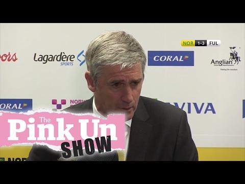 REACTION: Norwich City boss Alan Irvine & Fulham's Slavisa Jokanovic