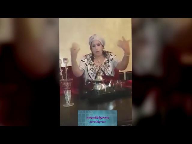 """الفنانة """"نجات عتابو"""" تفجرها في وجه (المسؤولين الكبار)!!! في مدينة الخميسات"""