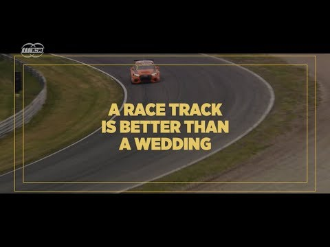 A race track is better than a wedding