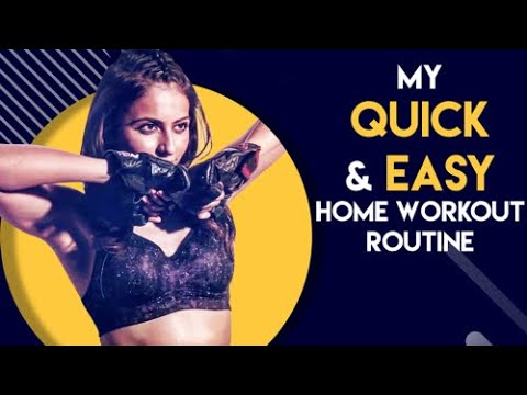 Download My Quick and Easy Workout at Home | Rakul Preet Singh