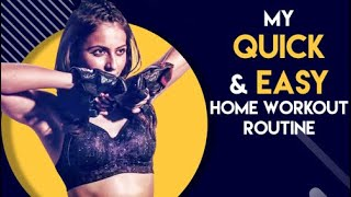 My Quick and Easy Workout at Home | Rakul Preet Singh