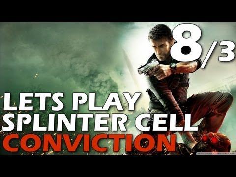 Lets Play: Splinter Cell Conviction - Third Echelon HQ (Episode 8, Part 3)