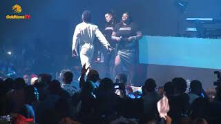 L A X AND DUNCAN MIGHTY'S PERFORMANCE AT BURNA BOY LIVE IN CONCERT 2018