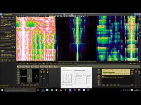 Danish spectralmusic on 243 kHz !