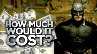how much would it cost to be batman?