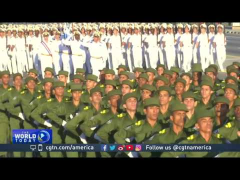 Military parade in Havana celebrates Cuban revolution