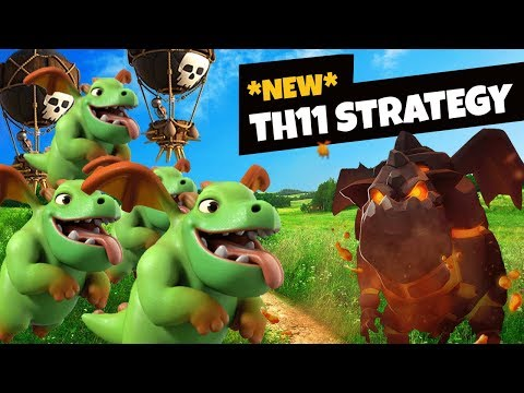 CRAZY NEW AIR STRATEGY FOR TOWN HALL 11 :: Clash of Clans