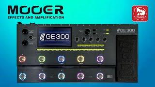 Топовий гітарний процесор Mooer GE300 . Що можуть зробити китайці за 1000$?