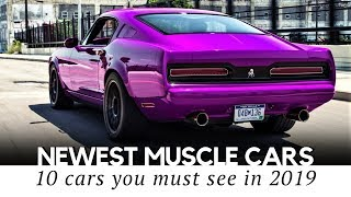 Top 10 Modern Muscle Cars with Performance Upgrades that Carry on the American Legacy