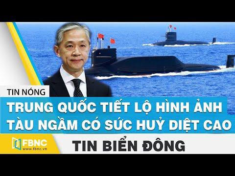 Tin Biển Đông   Trung Quốc tiết lộ hình ảnh tàu ngầm hạt nhân có sức huỷ diệt cao   FBNC