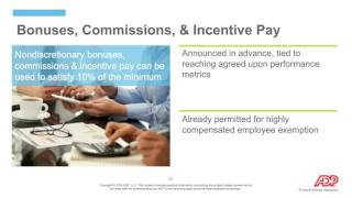 New Overtime Rules & Pay Scenarios