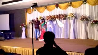 Anup & supriya @ vishals sangeeth