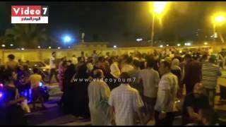 بالزغاريد والهتافات..أنصار حسين جاد يحتفلون فى حدائق القبة