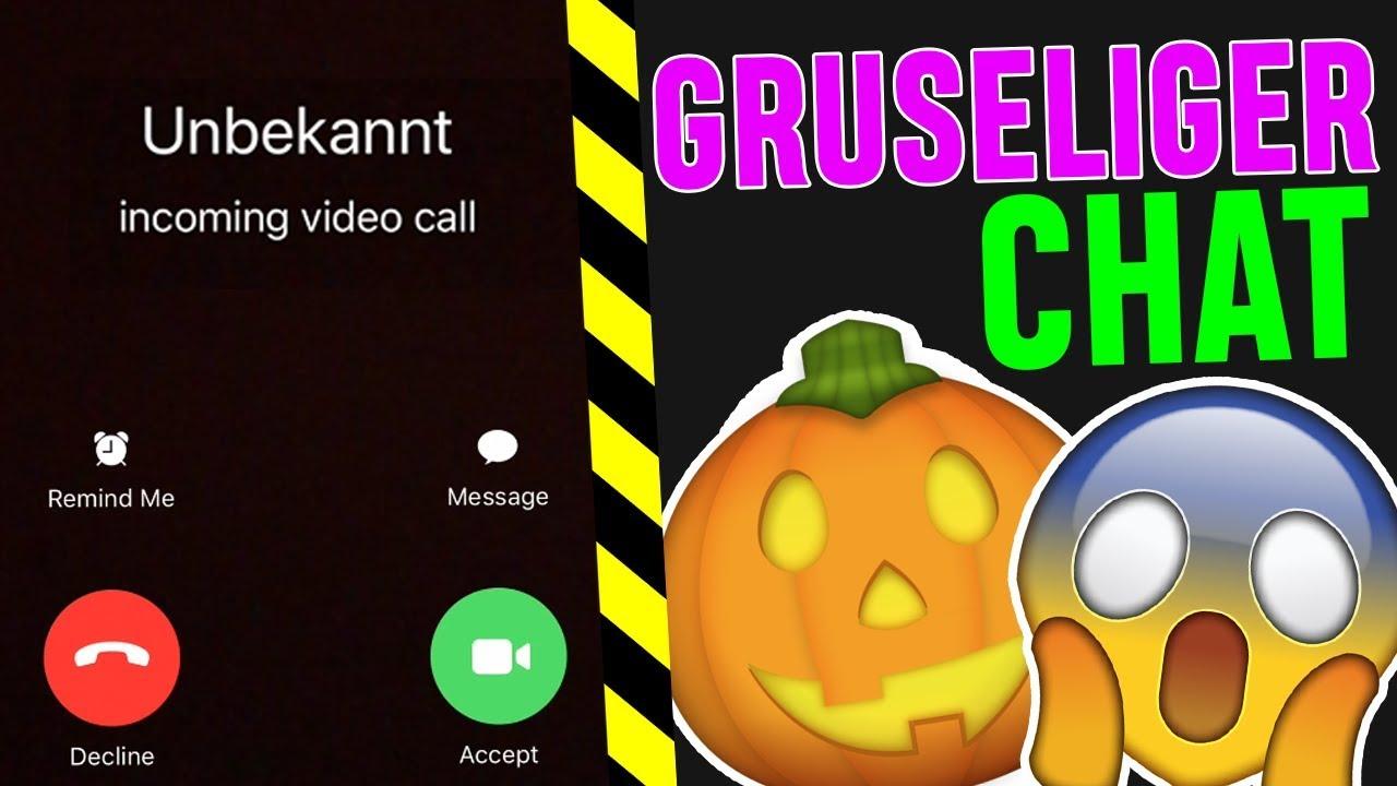 Heftig Gruseliger Whatsapp Chat Mit Unbekannten Halloween 1