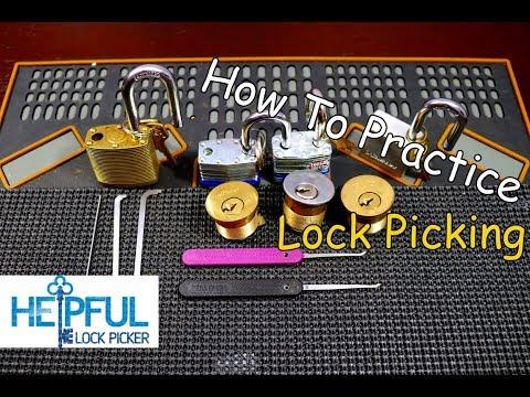 Взлом отмычками --   [151] How To Practice Lock Picking ()