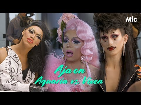 Aja weighs in on THAT Aquaria-Vixen moment from season 10