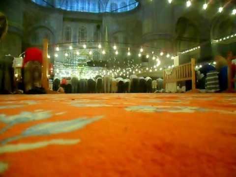 Tarawih at the Sultanahmet Camii (Blue Mosque) - Istanbul, Turkey