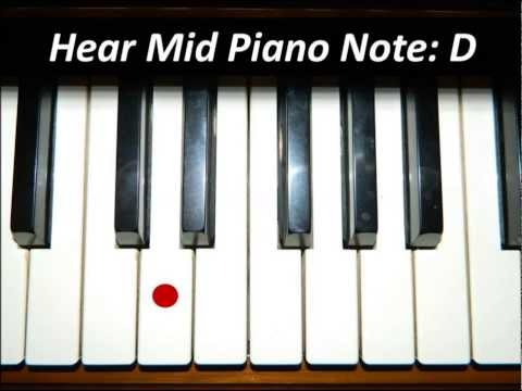 Image result for Hear Piano Note - Mid D