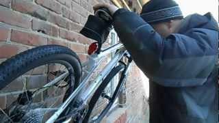 Крепление для велосипеда за педаль